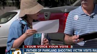Parkland victim's father at gun safety rally