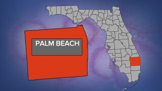 Palm Beach County coronavirus map