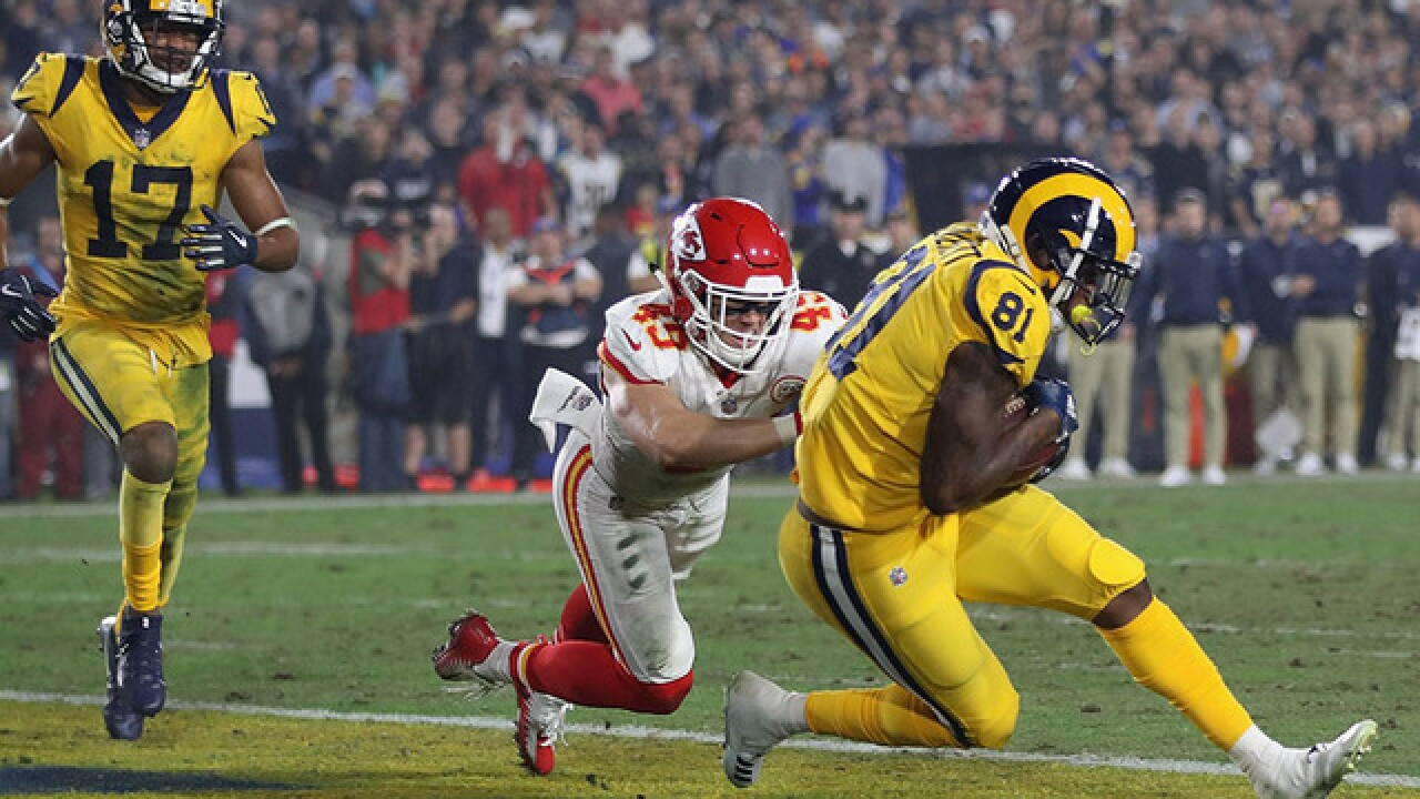 Los Angeles Rams outlast Kansas City Chiefs 54-51 in record Monday night showdown