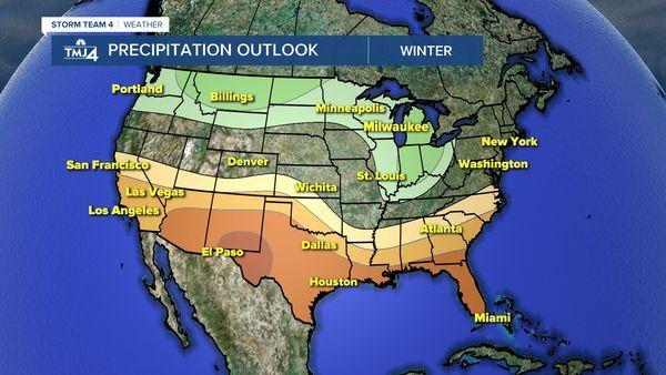 NOAA Winter Precipitation Forecast
