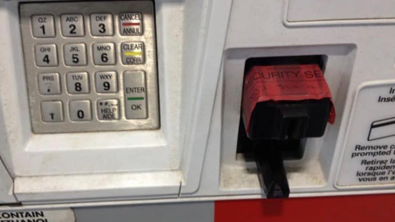 Credit card skimmers discovered at gas stations around the