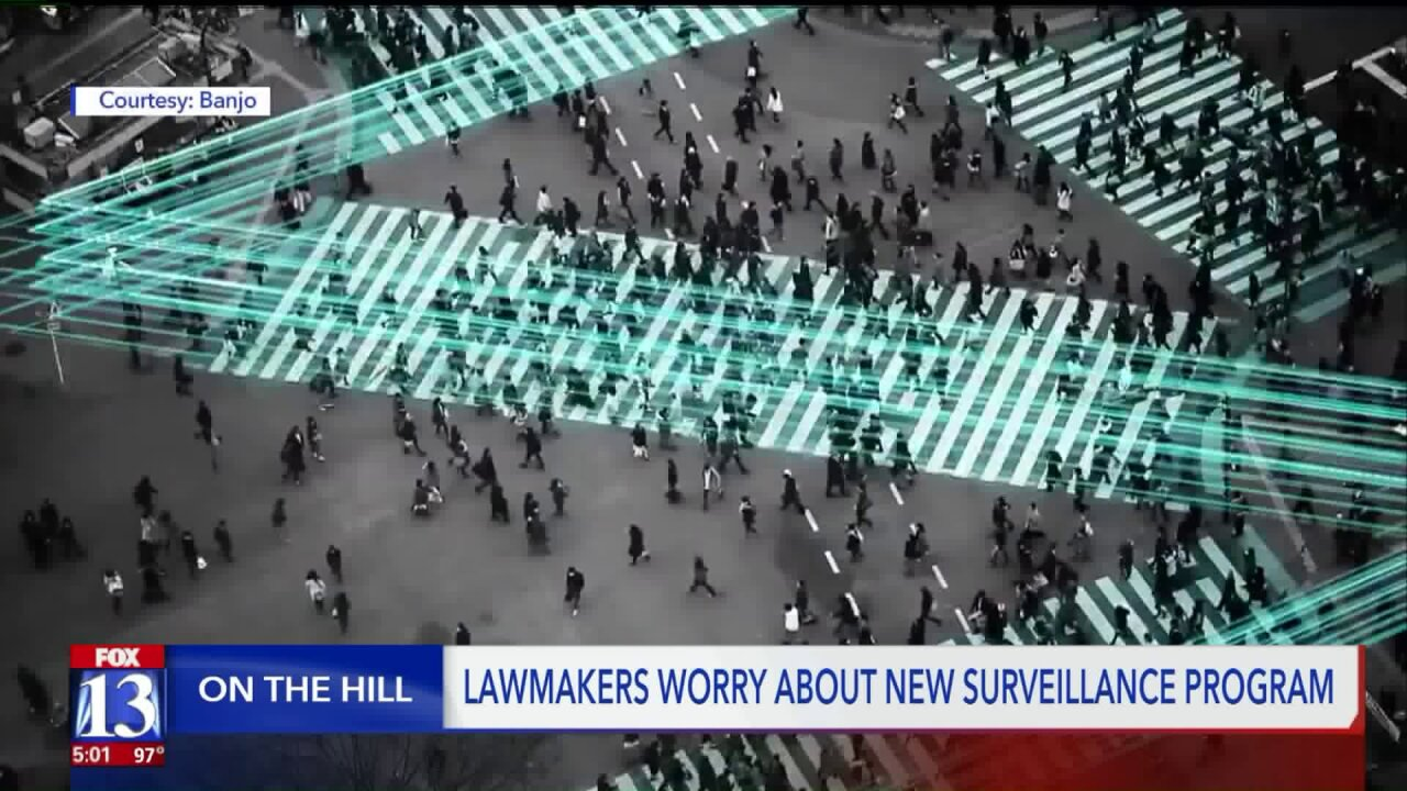 Utah lawmakers worry over real-time surveillance program's reach and whether it creates 'Big Brother'