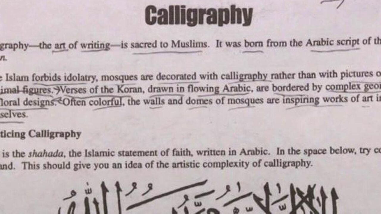All schools shut down in Augusta County over Islam homework