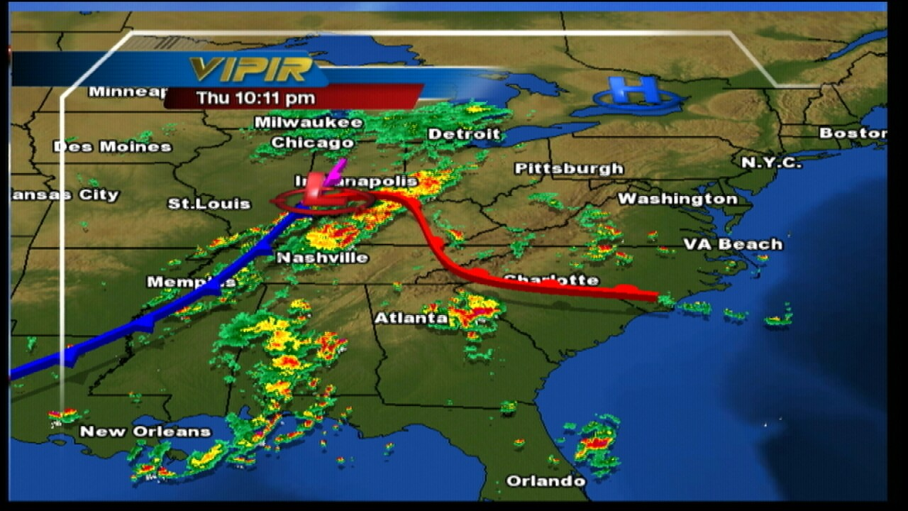 Major severe weather threat today
