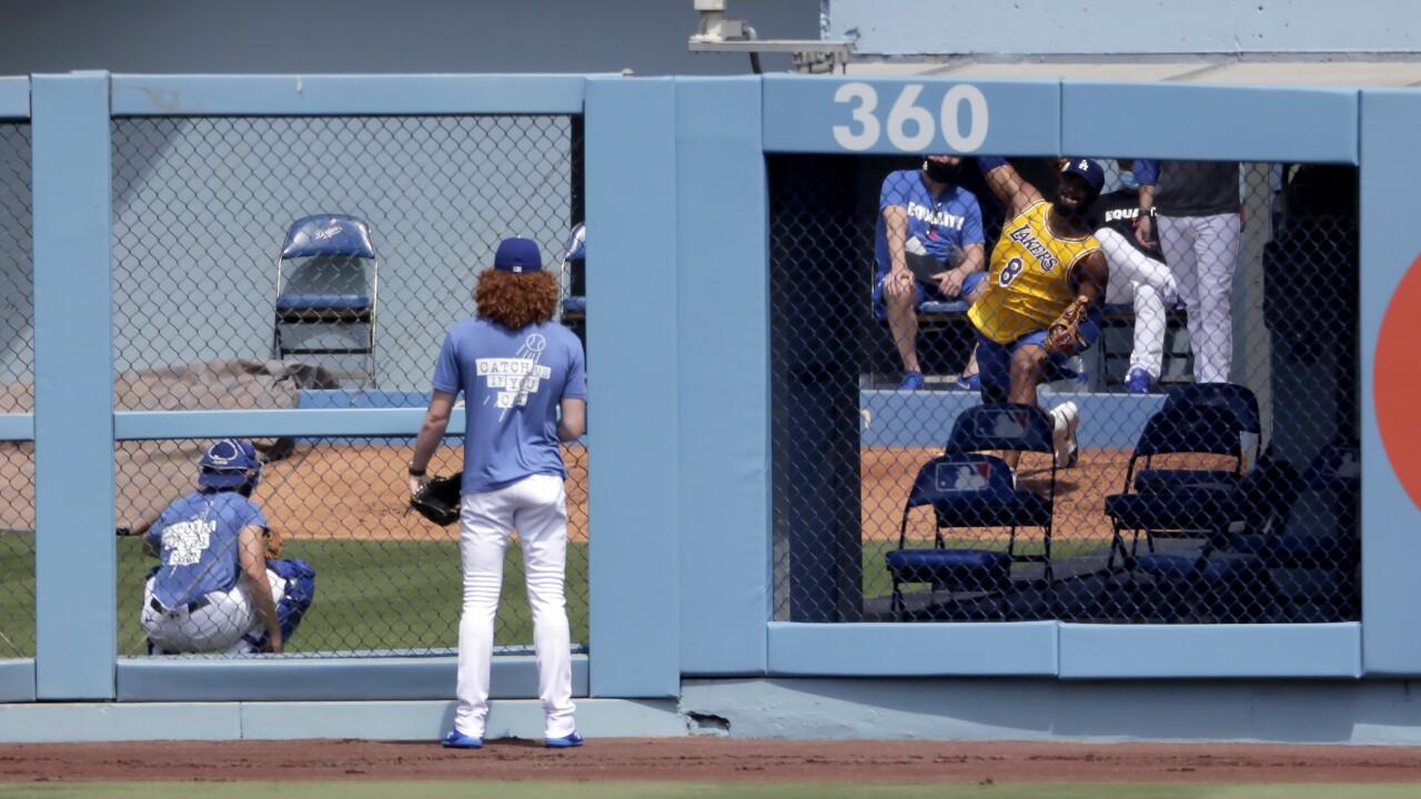 Rockies Dodgers Baseball