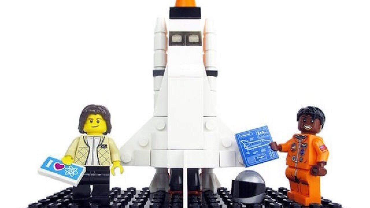 Lego's newest set: Women of NASA