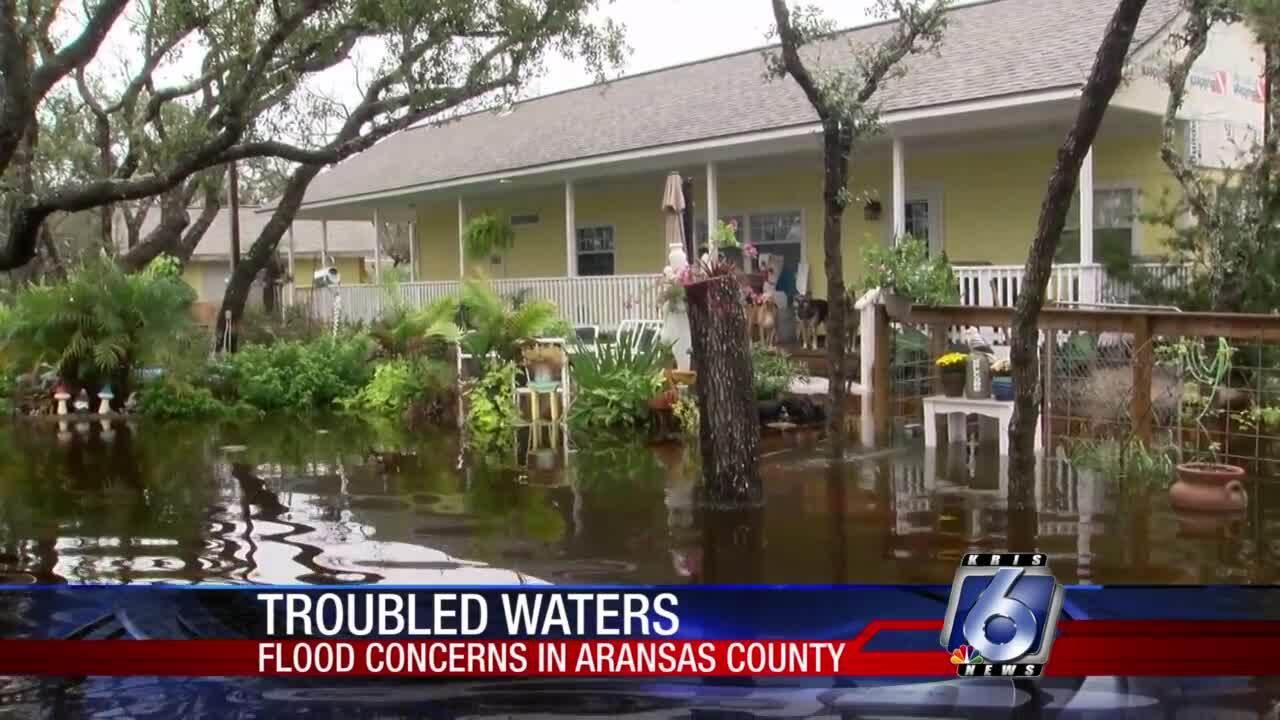 Sawyer Lane flooding has worsened since Hurricane Harvey
