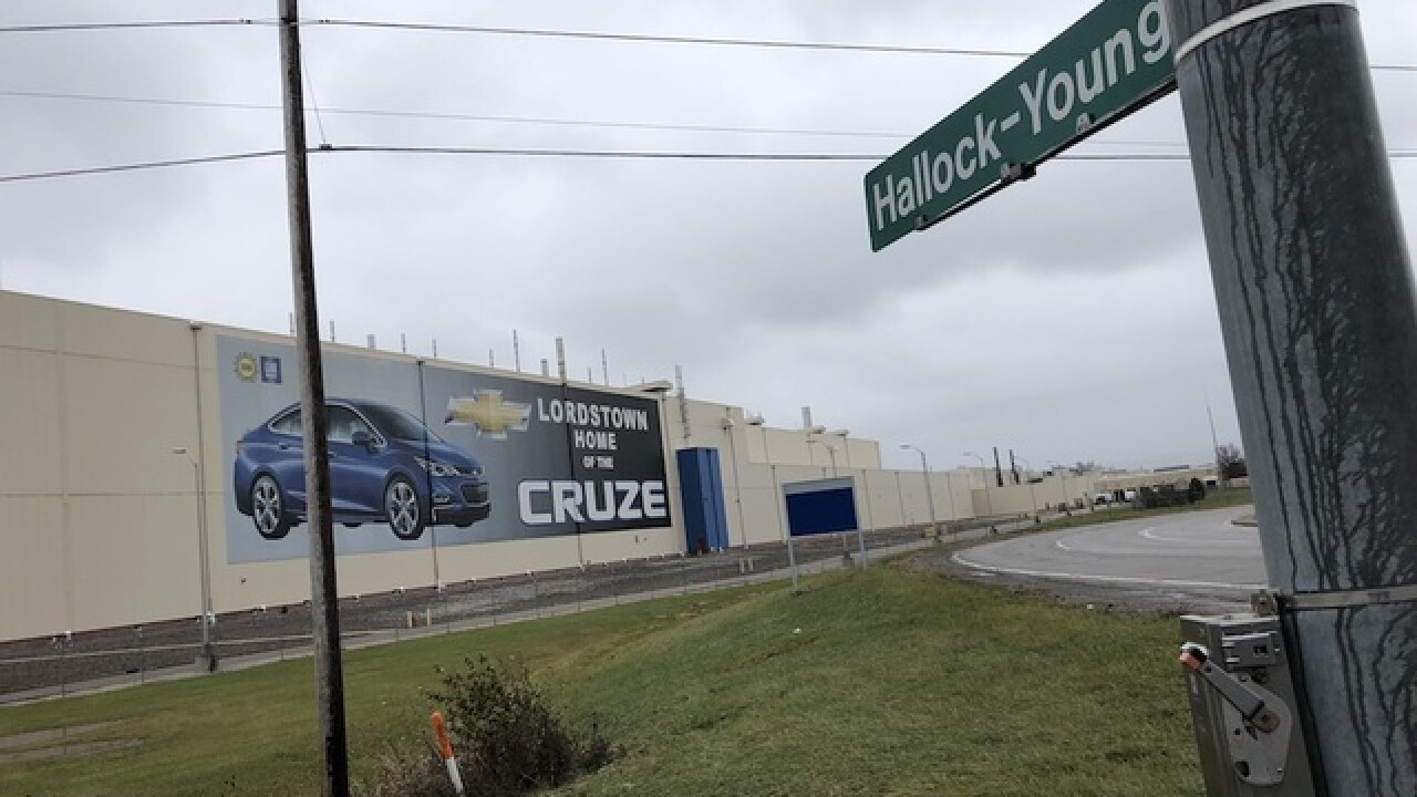 General Motors Lordstown to stop production