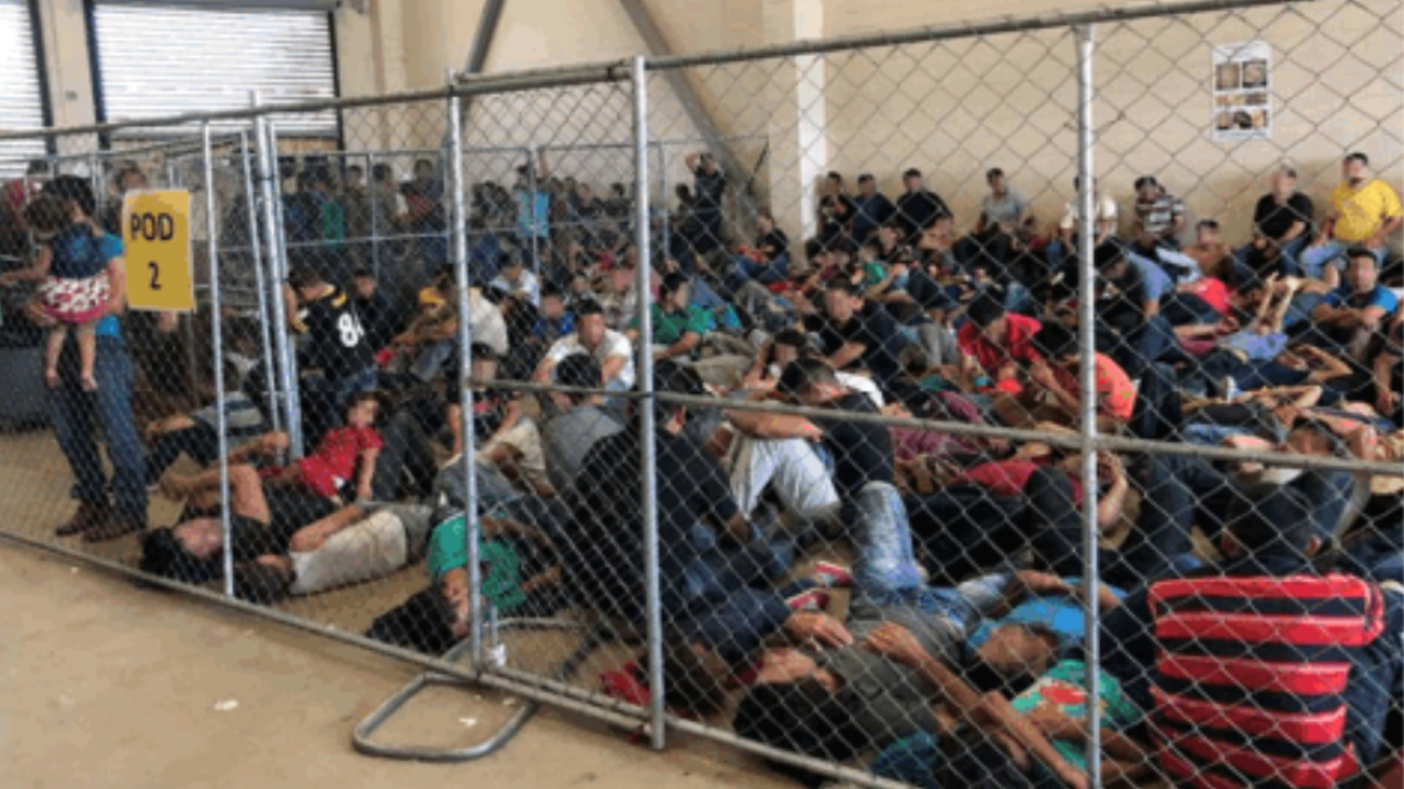 Photos of migrants overcrowding Texas border facilities released by Inspector General