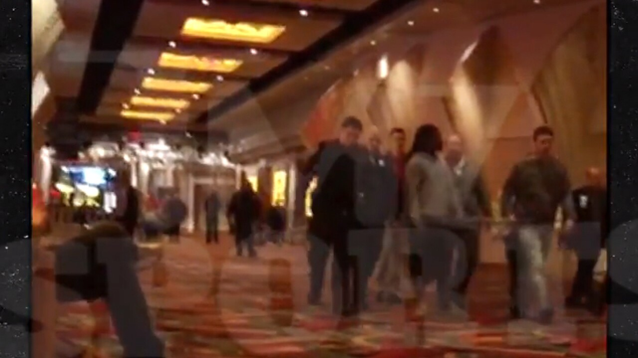 Video shows Bengals' Jones escorted from casino