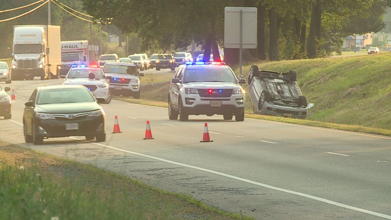 Police ID woman killed in Chesterfield rollovercrash