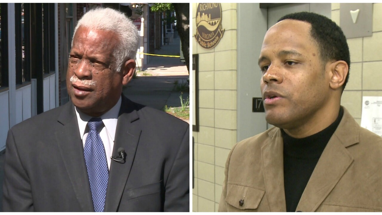 Richmond Mayor's son and former city council member get in screaming match at school boardmeeting