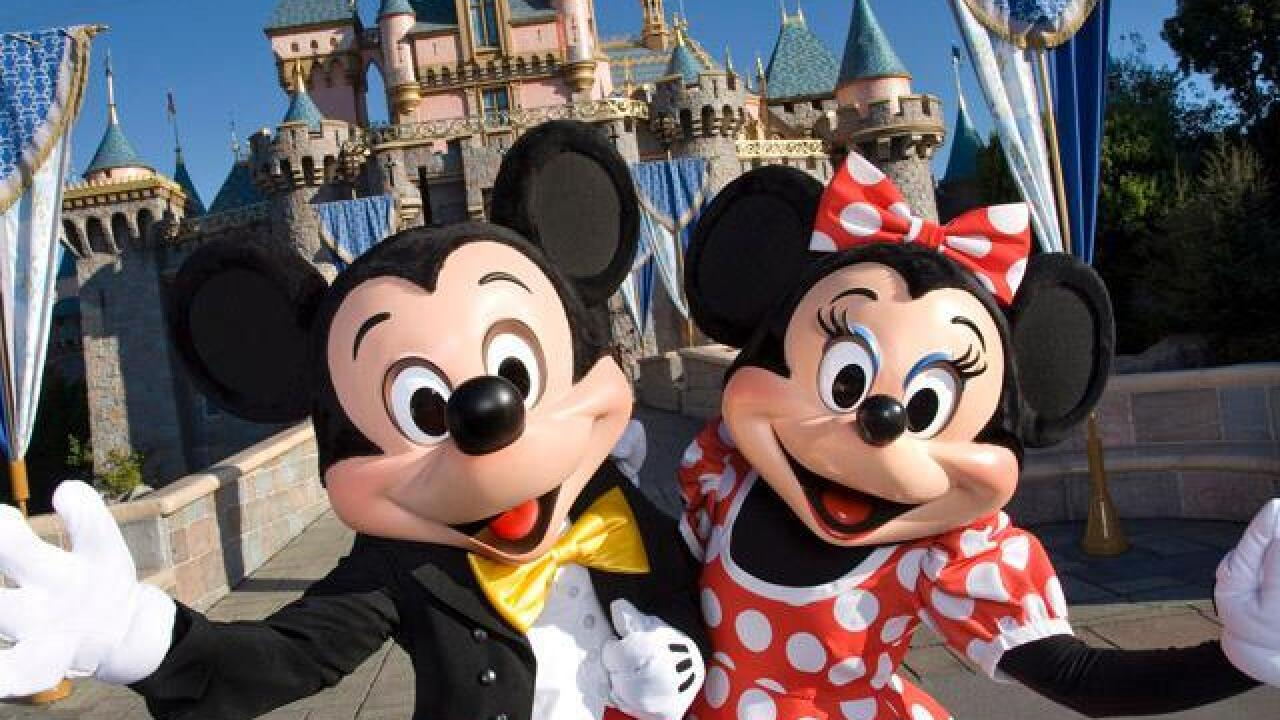 Mickey Mouse Minnie Mouse Disneyland