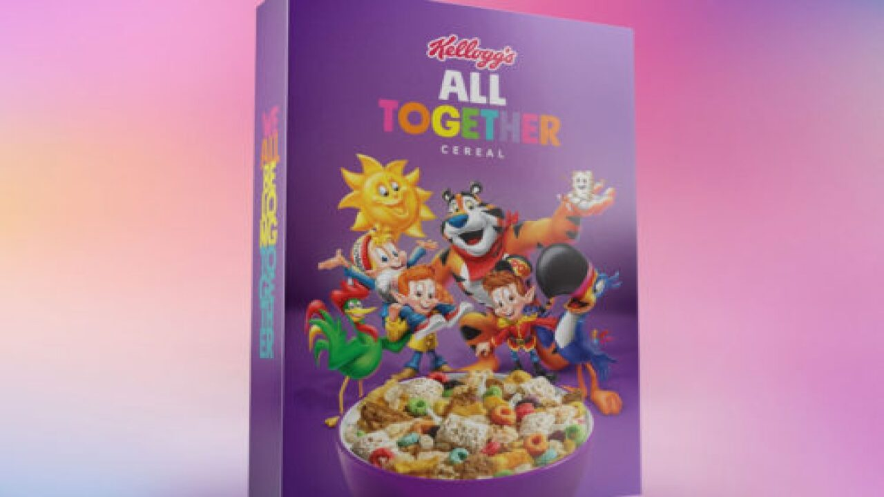 Kellogg's 'All Together' Cereal Box Contains 6 Iconic Cereals In 1 Box