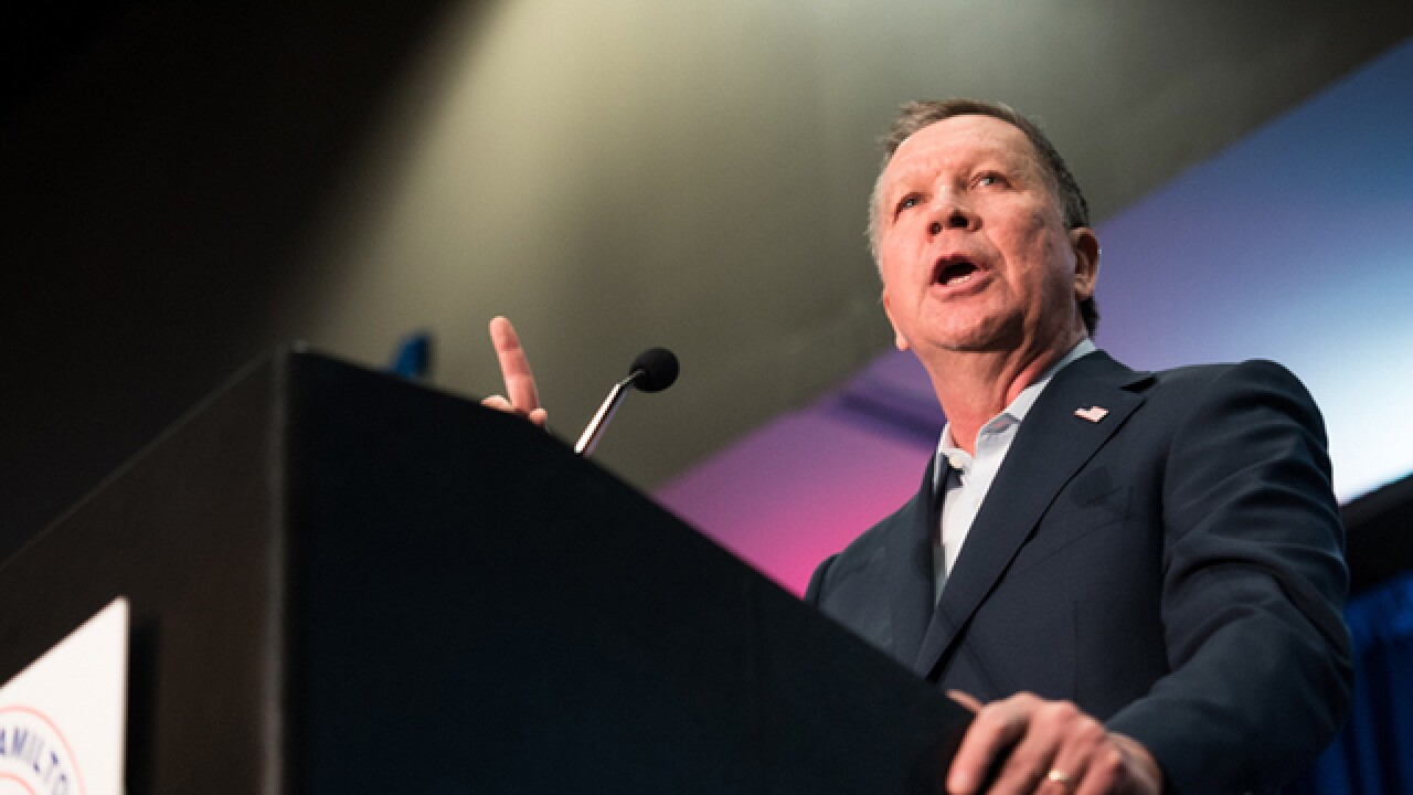 WATCH LIVE | John Kasich in Strongsville at 1p