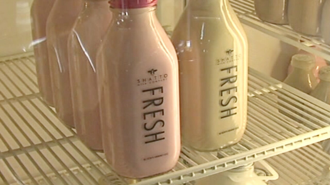 Shatto Milk production affected after pipe burst