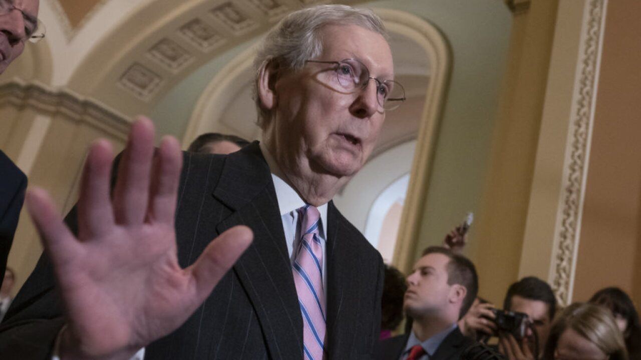 McConnell Speaks On Hypothetical SCOTUS Vacancy