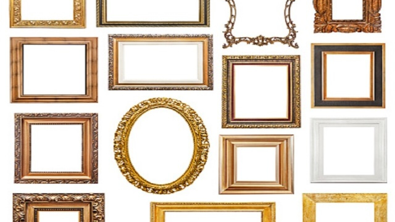 How to repurpose broken or outdated picture frames