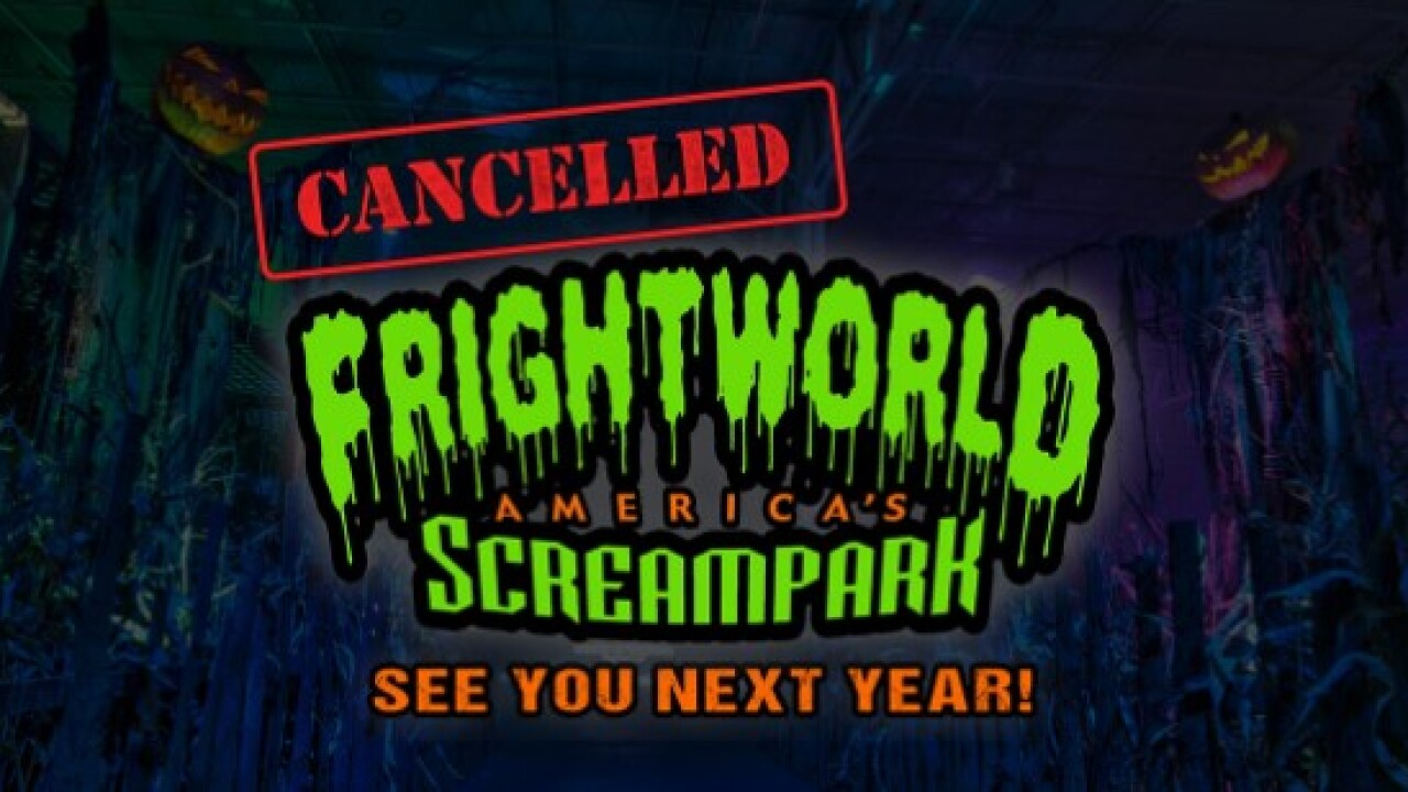 Frightworld 2020 canceled