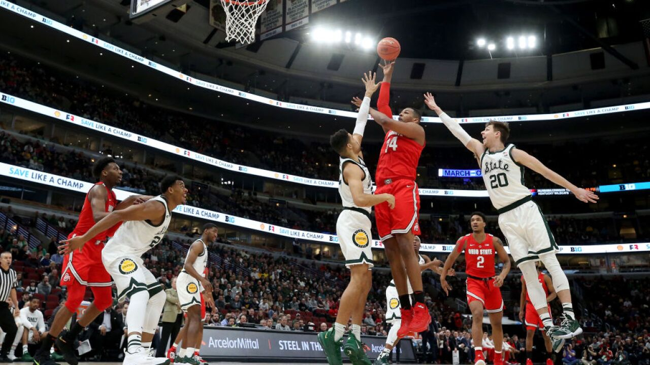 Michigan State basketball 2019 Big Ten Tournament Ohio State