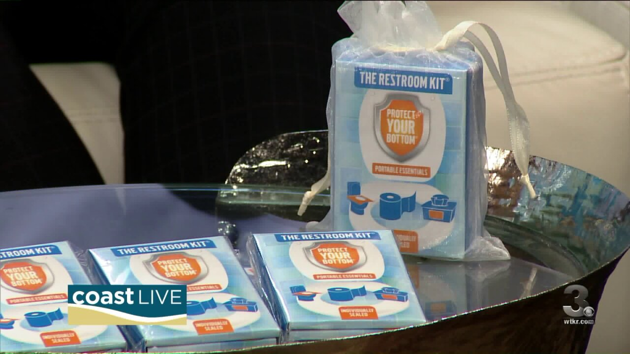 The inventors of The Restroom Kit talk about preparing for public potties on CoastLive
