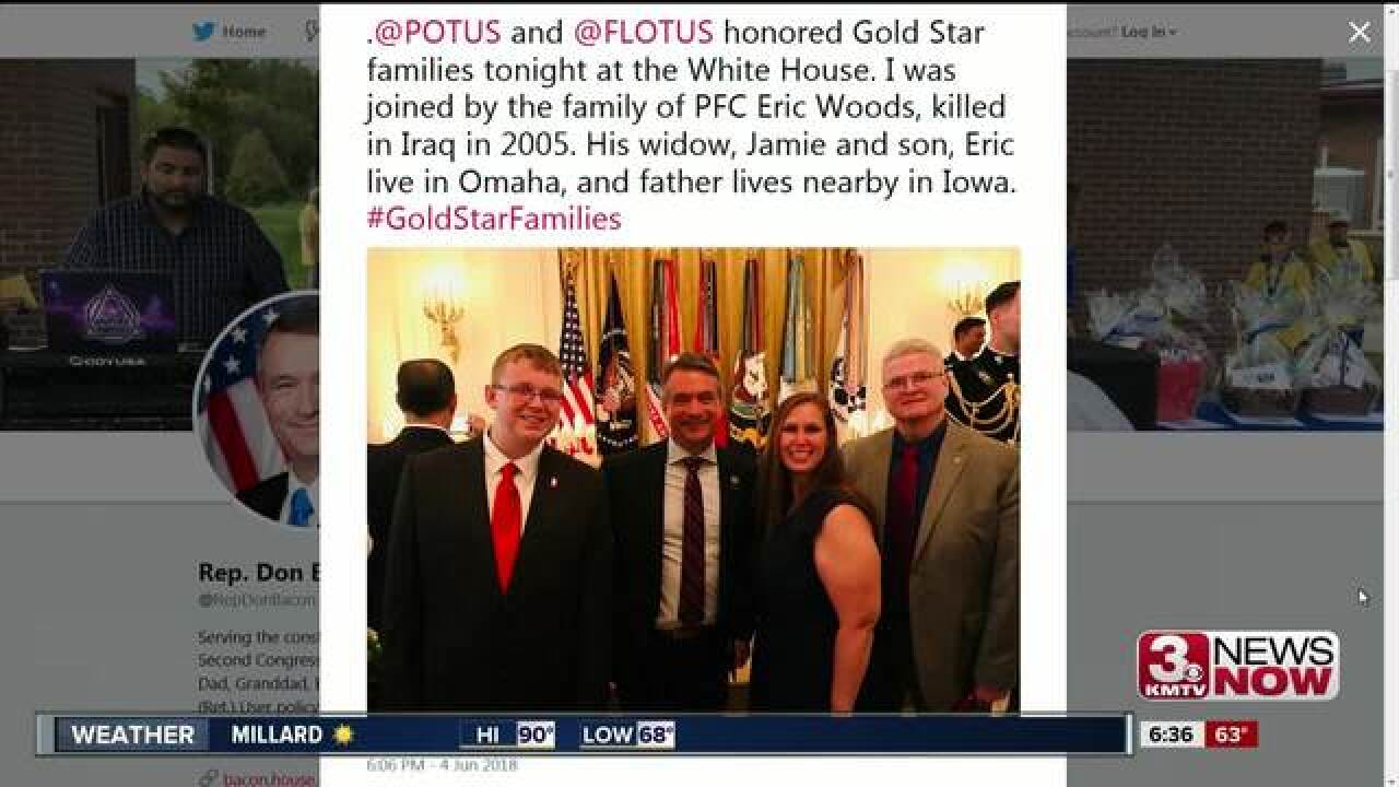 Congressman Don Bacon, President Trump honor Gold Star Families