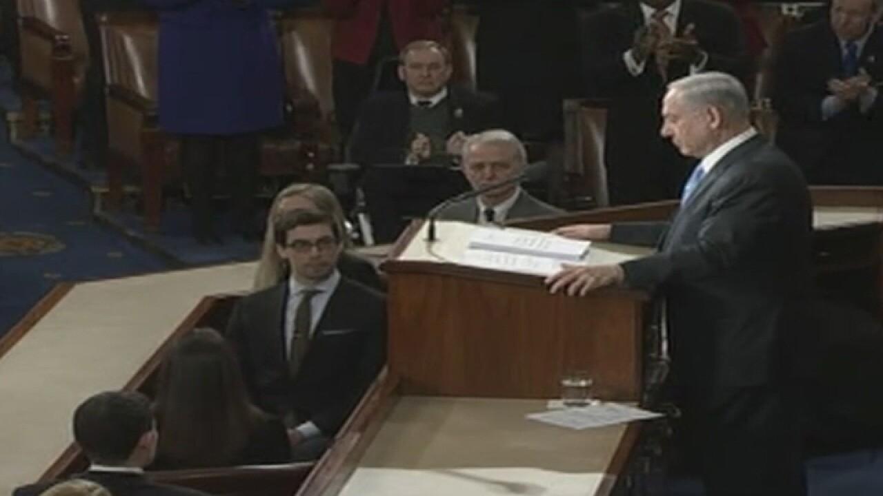 Israeli PM warns Congress about Iran
