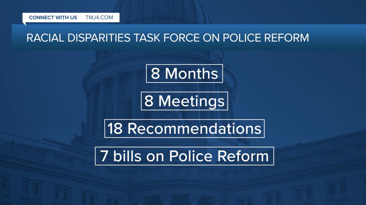 Racial Disparities Task Force's efforts