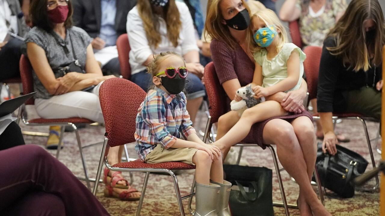Virus Outbreak Utah Schools Masks