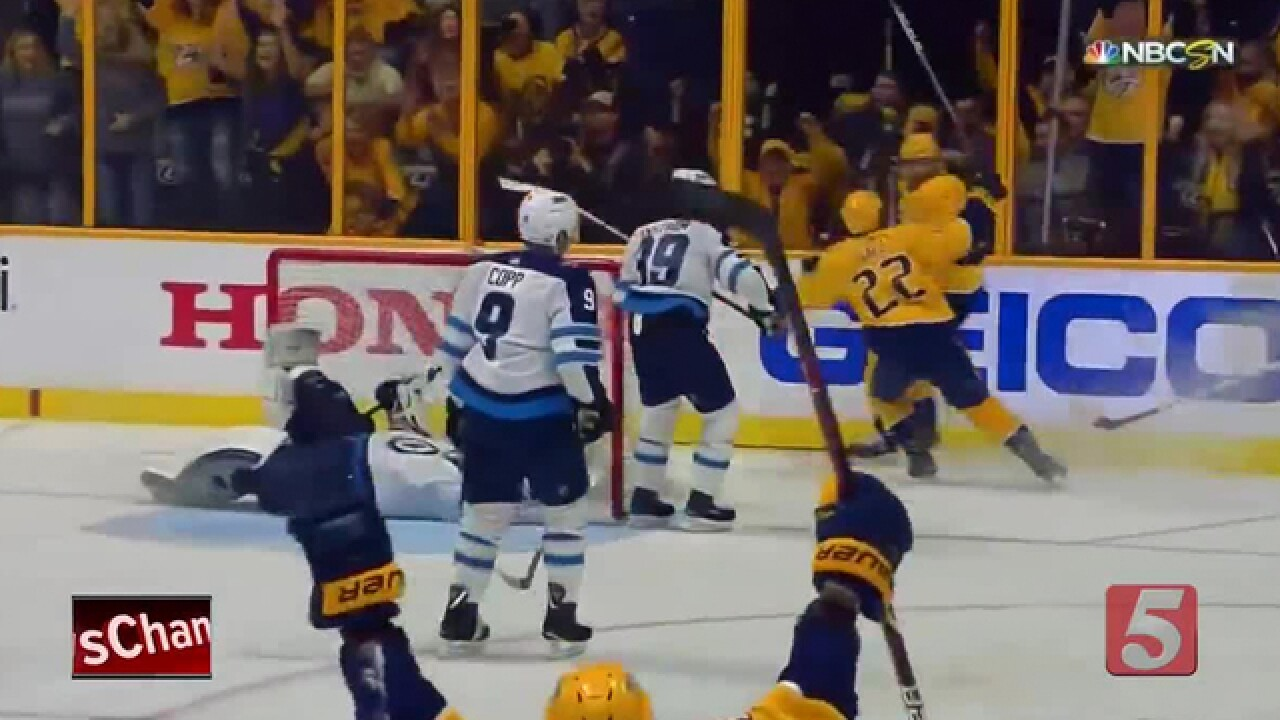 Preds Outlast Jets in 2 OT's To Even Series
