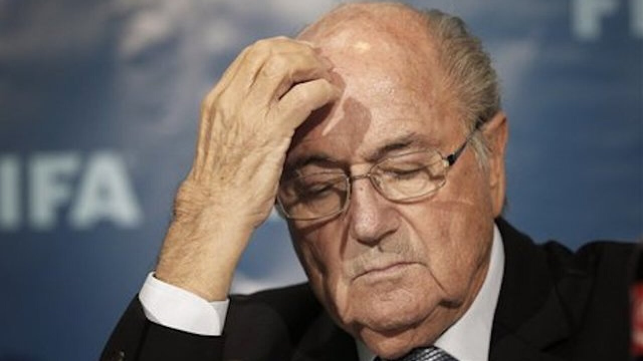 Sepp Blatter back at FIFA to appeal 8-year ban