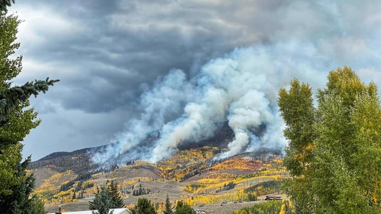 Ptarmigan Fire Sept 29 2021