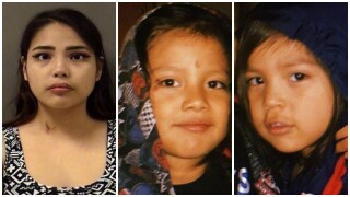 Missing-Endangered Person Advisory for 4-year old Anthony Jimenez, Jr., and 3-year old Armando Jimenez.
