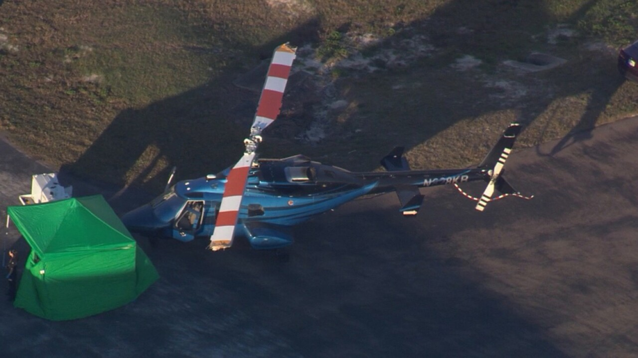 Person decapitated by helicopter at airport in Florida, death investigation underway