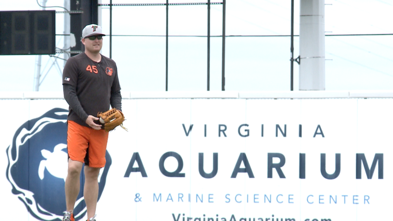 Orioles' Mark Trumbo enjoying his Tides time as his rehab nears an end