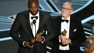 Kobe Bryant wins Oscar at the Academy Awards