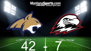 Montana State 42, Southern Utah 7