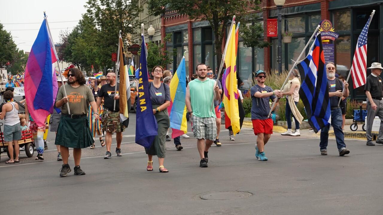 Big Sky Pride LGBTQ Flags