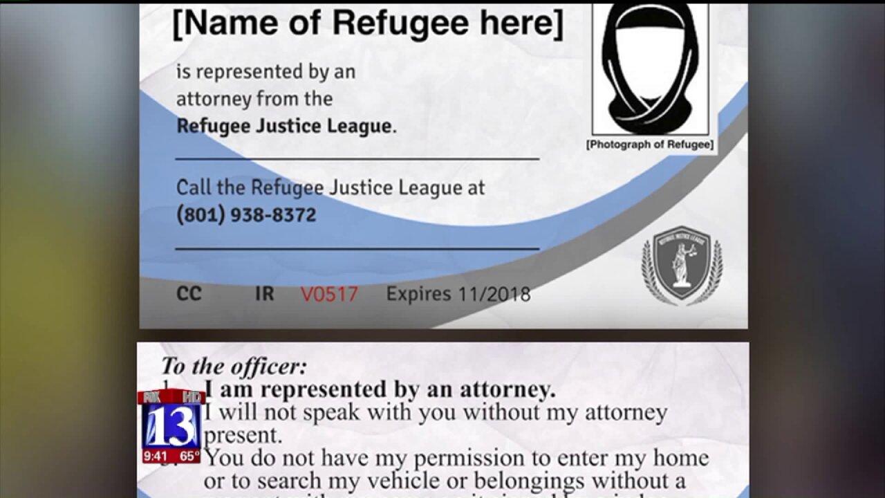 Refugees in Utah receive 'Refugee RightsCards'