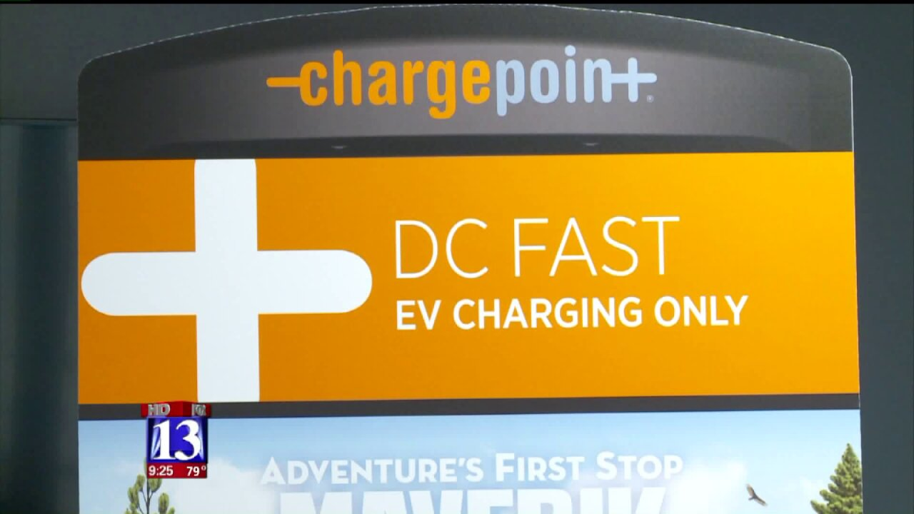 New fast-charging stations unveiled as part of Mighty Five Electric Vehicle Corridor Initiative