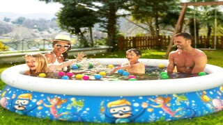 Inflatable pool is big enough for adults and is on sale for $32 right now
