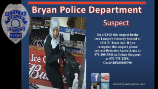 Bryan Police Department Lampo Grocery
