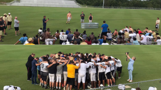 Tennessee high school football players baptized on field after practice