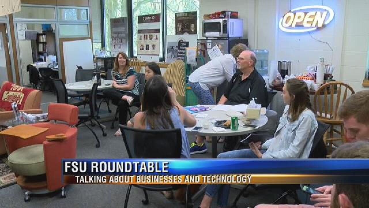 Roundtable Discussing Technology Use in Business Held at FSU