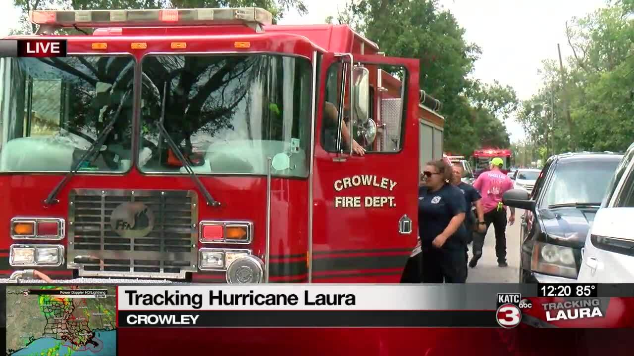 Crowley Fire helps clean up city