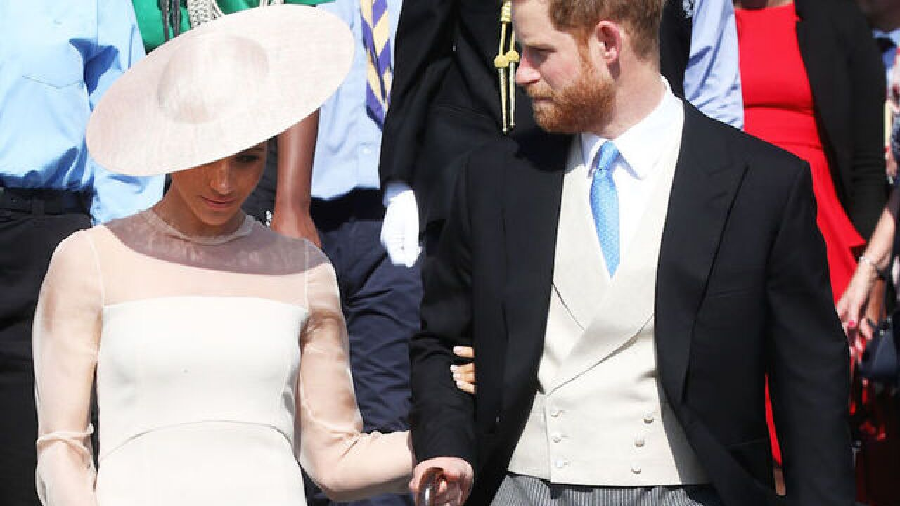 Duke and Duchess of Sussex make first appearance since royal wedding