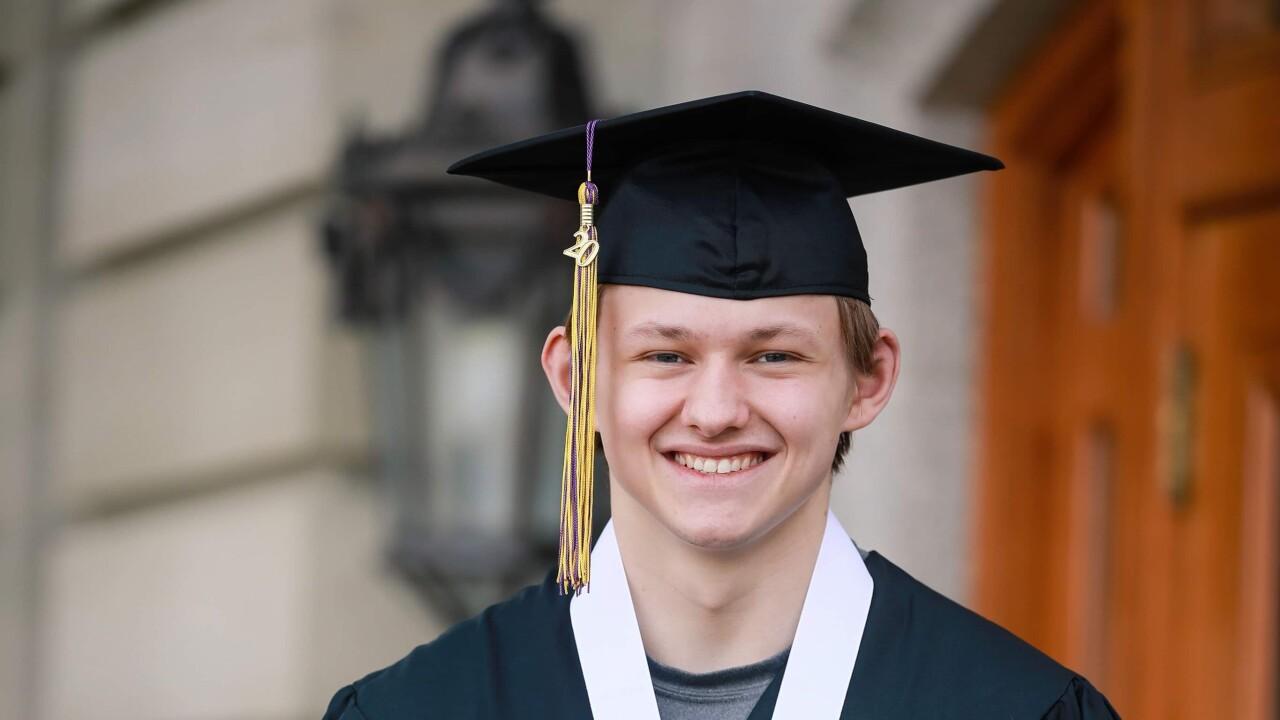 Avery Stiles graduation
