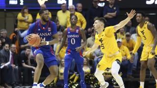 Kansas Jayhawks vs. West Virginia Mountaineers basketball February 2020