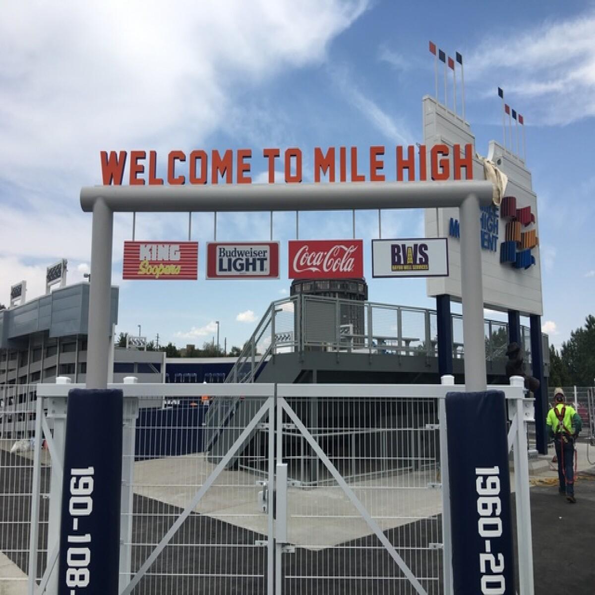 Take A Look Inside The New Mini Mile High Stadium