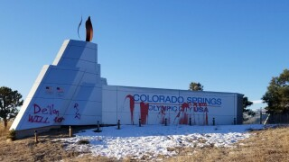 'De'Von Bailey will not RIP:' Colorado Springs landmark vandalized with name of man shot by police